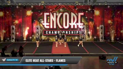 Elite Heat All-Stars - Flames [2021 L1.1 Youth - PREP Day 1] 2021 Encore Championships: Pittsburgh Area DI & DII