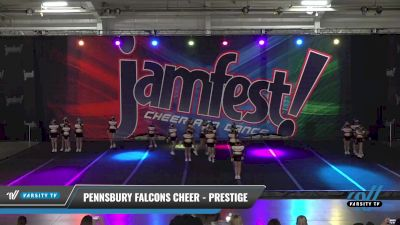 Pennsbury Falcons Cheer - Prestige [2021 L1 Performance Recreation - 12 and Younger (NON) Day 1] 2021 JAMfest: Liberty JAM
