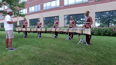 In The Lot: Boston Crusaders Tenors In Detroit