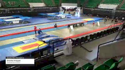 Brooke Knipper - Double Mini Trampoline, Sonshine Gymnastics. - 2021 Elite Challenge