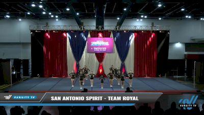 San Antonio Spirit - Team Royal [2021 L2 Junior - D2 - Small Day 2] 2021 The American Spectacular DI & DII