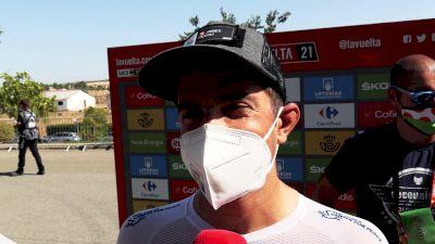 Vuelta a España: 'The Escape A Death Sentence'
