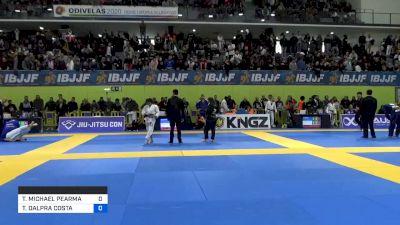 TAYLOR MICHAEL PEARMAN vs TAINAN DALPRA COSTA 2020 European Jiu-Jitsu IBJJF Championship