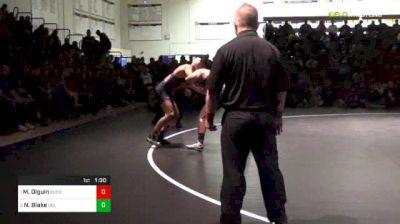 160 lbs Final - Matthew Olguin, Buchanan vs Noah Blake, Del Oro
