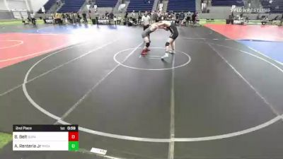 160 lbs 2nd Place - Ben Belt, Durango WC vs Armando Renteria Jr, Phox Raw WC