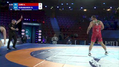 125 kg Round Of 16 - Amir Zare, Iran vs Dzianis Khramiankou, Belarus
