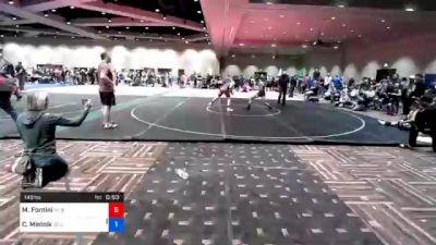 149 lbs Prelims - Mario Fornini, Nj Scorpions Wrestling School ,llc vs Cael Mielnik, Jr Seahawks Wrestling Club