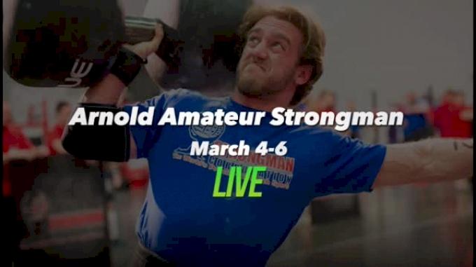 2016 Arnold Amateur Strongman - Day 1, Part 1