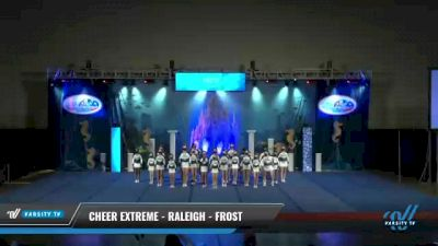 Cheer Extreme - Raleigh - Frost [2021 L2 - U17 Day 2] 2021 Return to Atlantis: Myrtle Beach