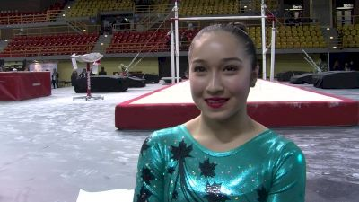 Rose-Kaying Woo On Top 3 Finish For Canada Rams - Gymnix 2016 Senior Cup