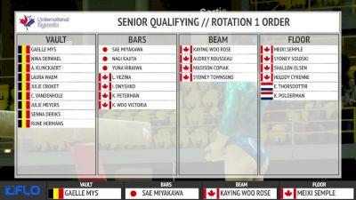 Rose-Kaying Woo - Beam, Canada - Gymnix 2016 Senior Cup