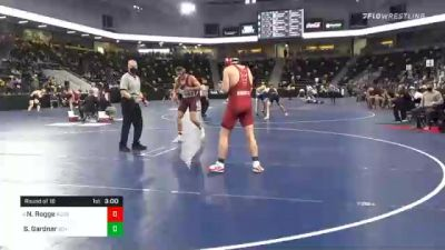 184 lbs Prelims - Nick Rogge, Augsburg University vs Seth Gardner, Southern Virginia University