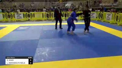 SAFIA MIAN vs LILYANNA GWENDOLYN NOLAN 2021 Pan Kids Jiu-Jitsu IBJJF Championship