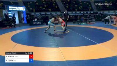 72 kg Quarterfinal - Michael Hooker, Army (WCAP) vs Ryan Ojeda, California