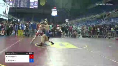113 lbs Consi Of 32 #2 - Matthew Vindigni, North Carolina vs Carson Wagner, Pennsylvania