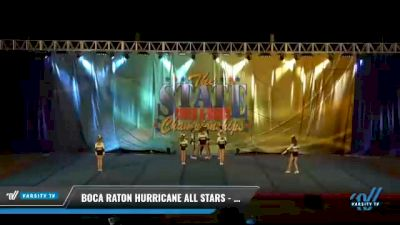 Boca Raton Hurricane All Stars - GREAT WHITE SHARKS [2021 L4 Senior - D2 - Small Day 2] 2021 The STATE DI & DII Championships