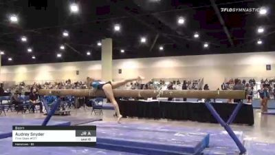 Audrey Snyder - Beam, First State #127 - 2021 USA Gymnastics Development Program National Championships