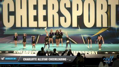 Charlotte Allstar Cheerleading - Glow [2021 L2 Junior - Novice Day 1] 2021 CHEERSPORT: Charlotte Grand Championship