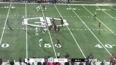 Replay: Sterling vs Goose Creek | Oct 15 @ 7 PM