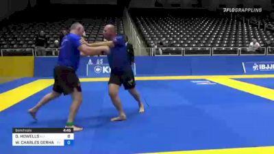 DAVID HOWELLS vs WILLIAM CHARLES GERHAUSER 2021 World IBJJF Jiu-Jitsu No-Gi Championship