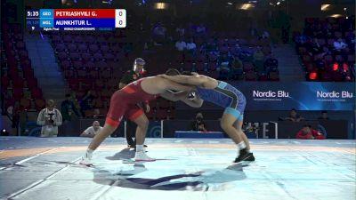 125 kg Round Of 16 - Geno Petriashvili, Georgia vs Lkhagvagerel Munkhtur, Mongolia
