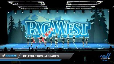 DF Athletics - J Spades [2020 L2.1 Junior PREP Day 1] 2020 PacWest