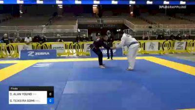 GERALDO TEIXEIRA GOMES vs DEREK ALAN YOUNG 2020 World Master IBJJF Jiu-Jitsu Championship
