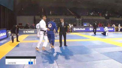 Leonardo Fernandes vs Raphael Cadena 2019 Pan Jiu-Jitsu IBJJF Championship