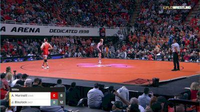 165 lbs Dual - A. Marinelli vs J. Blaylock