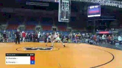 195 lbs Round Of 32 - Seth Shumate, Ohio vs Brian Finnerty, Pennsylvania
