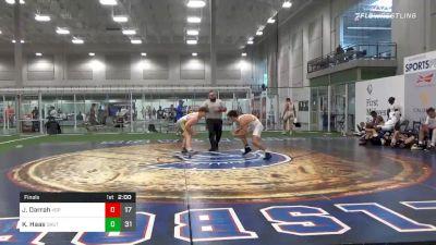 220 lbs Final - Jack Darrah, King Select Platium vs Kyle Haas, Team Shutt Greco