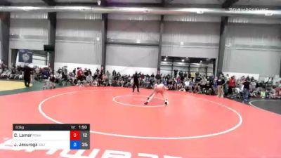 63 kg Quarterfinal - Chance Lamer, Poway Elite vs Joel Jesuroga, Sebolt Wrestling Academy