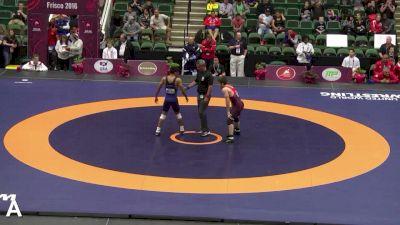 65 kg Semifinal - Brent Metcalf, USA vs Franklin Gomez, PUR