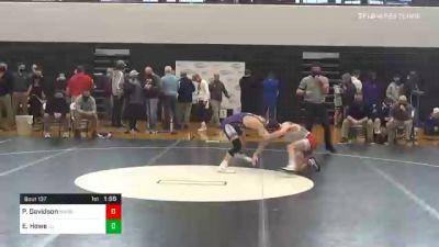 120 lbs Final - Parker Davidson, Hamburg vs Eric Howe, Lancaster Catholic
