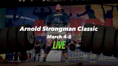 Arnold Strongman Classic Replay - The Oak, The Cyr Dumbbell, The Bale Tote