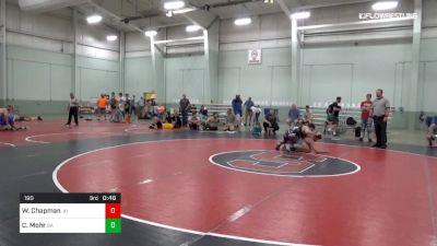 190 lbs 5th Place - William Chapman, JU vs Christopher Mohr, BA
