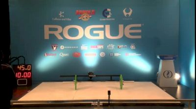 Arnold Weightlifting Championships Replay - Platform A, 3/4/16