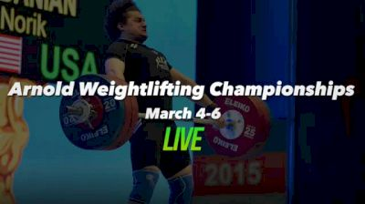 Arnold Weightlifting Championships Replay - Platform A, 3/5/16 Part 1