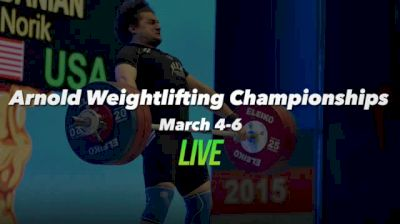 Arnold Weightlifting Championships Replay - Platform B, 3/5/16 Part 1