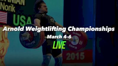 Arnold Weightlifting Championships Replay - Platform A, 3/6/16