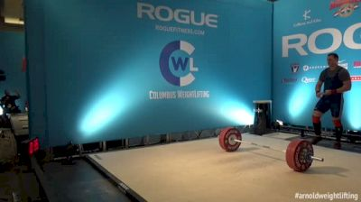 Arnold Weightlifting Championships Replay - Platform B, 3/5/16 Part 3