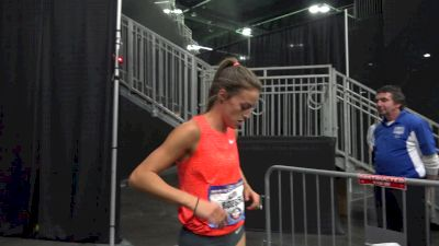 Laura Roesler wins first round of 800m after three gun malfunctions