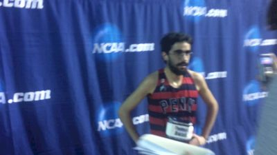 Tommy Awad pleased with 3rd place mile finish, gearing up for outdoor 5k