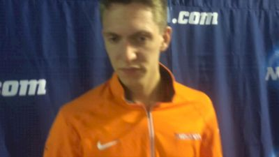 Henry Wynne says its a dream come true to be mile champion, talks tactics of slow race