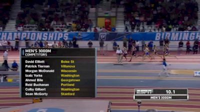Men's 3k, Edward Cheserek wins 3k with 1:57 final 800m