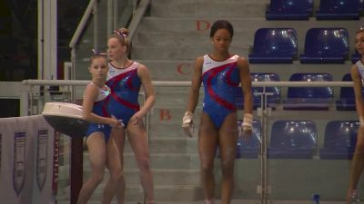 Gabby Douglas Solid On Vault (USA) - Official Training, Jesolo 2016