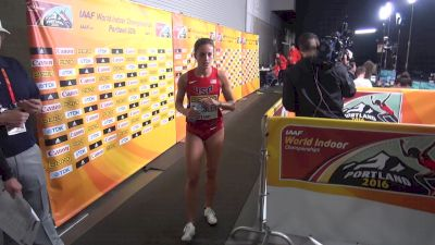 Laura Roesler says she had a perfect race in the prelim