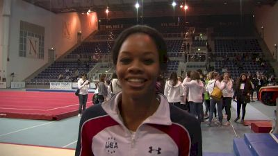 Gabby Douglas Fired Up After A Great Weekend, Excited About New TV Show - Event Finals, Jesolo 2016