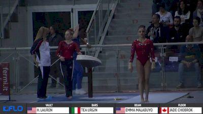 Laurie Hernandez - Vault, USA - Event Finals, Jesolo 2016
