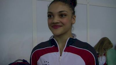 Laurie Hernandez Excited To Be Out On The Big Stage - Event Finals, Jesolo 2016